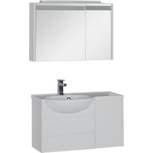 Мебель для ванной Aquanet Лайн 90 L белый