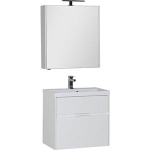 Мебель для ванной Aquanet Латина 70 два ящика, белый