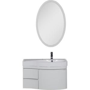 Мебель для ванной Aquanet Сопрано 95 R с дверцами и ящиками, белый