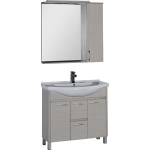 Мебель для ванной Aquanet Донна 90 белый дуб