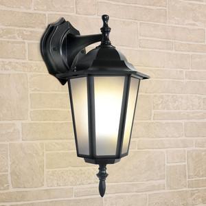 Уличный настенный светильник Elektrostandard 4690389085697 уличный настеный светильник elektrostandard 1004d черный 4690389085697