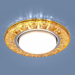 Точечный светильник с двойной подсветкой Elektrostandard 4690389100055