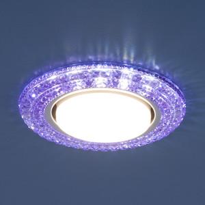 Точечный светильник с двойной подсветкой Elektrostandard 4690389083310 фото