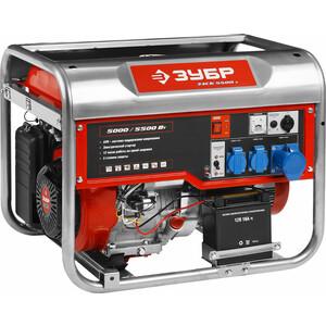 Генератор бензиновый Зубр ЗЭСБ-5500-Э генератор бензиновый зубр зэсб 4000 э