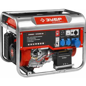 Генератор бензиновый Зубр ЗЭСБ-5500-ЭА генератор бензиновый зубр зэсб 4000 э
