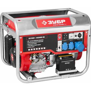 Генератор бензиновый Зубр ЗЭСБ-6200-ЭА генератор бензиновый зубр зэсб 4000 э