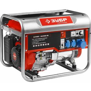 Генератор бензиновый Зубр ЗЭСБ-6200 генератор бензиновый зубр зэсб 4000 э