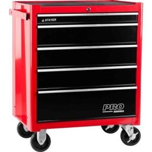 Тележка инструментальная Stayer 38907-5 тележка инструментальная keter с 5 ящиками drawer 2 3 22 38380 5