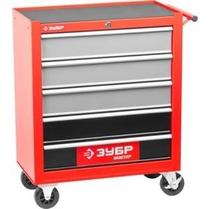 Тележка инструментальная Зубр 38905-5 тележка инструментальная keter с 5 ящиками drawer 2 3 22 38380 5