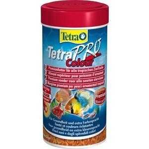 Корм Tetra TetraPro Colour Crisps Premium Food for All Tropical Fish чипсы усиление окраски для всех видов тропических рыб 500мл (204454)