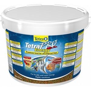 Корм Tetra TetraPro Energy Crisps Premium Food for All Tropical Fish чипсы придание энергии для всех видов тропических рыб 10л (141582)