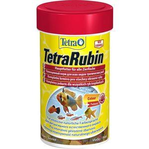 Корм Tetra TetraRubin Flakes Premium Food for All Tropical Fish хлопья усиление окраски для всех видов тропических рыб 1л (204416)