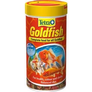 Корм Tetra Goldfish Flakes Complete Food for All Goldfish хлопья для всех видов золотых рыбок 1л (204355) корм tetra goldfish gold japan для селекционных золотых рыбок мини гранулы 250 мл 145 г