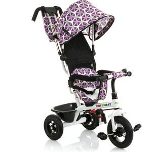 Велосипед трицикл BabyHit Kids Tour XT - Бело-сиреневый