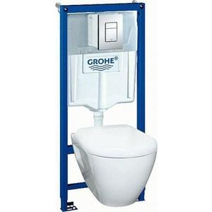 Комплект унитаза Grohe Solido с сиденьем микролифт (39186000)