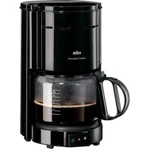 Кофеварка Braun KF 47/1 Black кофеварка braun kf 7020 черная