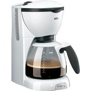 Кофеварка Braun KF 520/1 White цена и фото