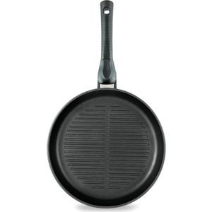 Сковорода-гриль d 26 см со съемной ручкой НМП Ферра (54026)