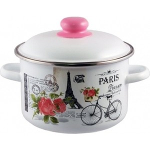 Кастрюля эмалированная 2.0 л Appetite Париж (1RD161M) кастрюля 3 6 л appetite pretty sh05363 20см
