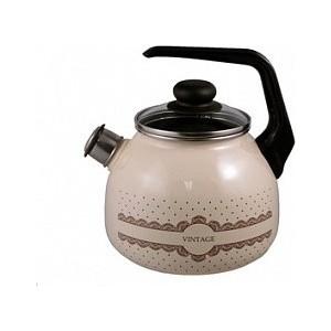 Чайник эмалированный 3.0 л со свистком Appetite Vintage (4с209я)