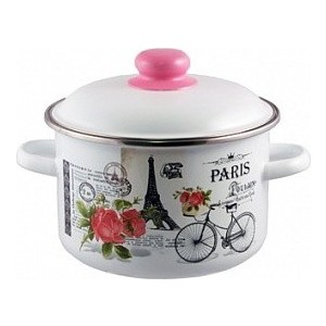 Фото - Кастрюля эмалированная 3.0 л Appetite Париж (1RD181M) ковш appetite париж 1 5 л
