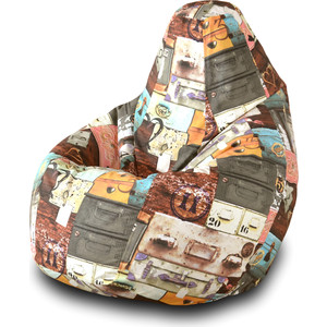 Кресло-мешок Груша Пазитифчик Вояж 03 кресло мешок груша пазитифчик кактус 03