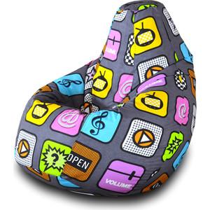 Кресло-мешок Груша Пазитифчик Плей 01 диван ру джерси плей milk