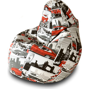 Кресло-мешок Груша Пазитифчик Ягуар 03