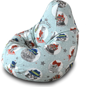 Кресло-мешок Груша Пазитифчик Литл китти 04 цены онлайн