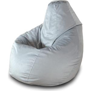 Кресло-мешок Груша Пазитифчик Серый 01