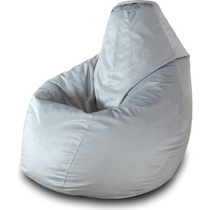 Кресло-мешок Груша Пазитифчик Серый 02