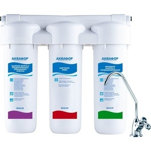 Фильтр для воды Аквафор ТРИО Fe Н