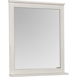 Зеркало с полкой Акватон Леон 65 дуб белый (1A187102LBPS0) зеркало с полкой акватон акватон лиана 65
