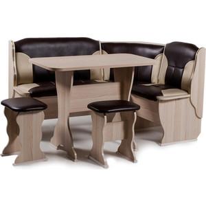 Набор мебели для кухни Бител Орхидея - комби (ясень с-221 + с-101, ясень) цена и фото