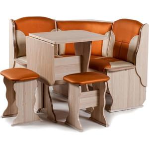 Набор мебели для кухни Бител Нарцисс - комби (ясень с-120 + с-101, ясень)