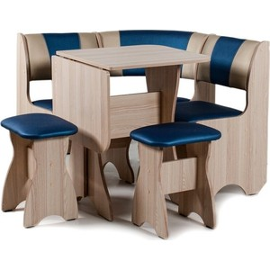 Набор мебели для кухни Бител Тюльпан мини - комби (ясень, терра эффект-114 + с-101, ясень) цена и фото