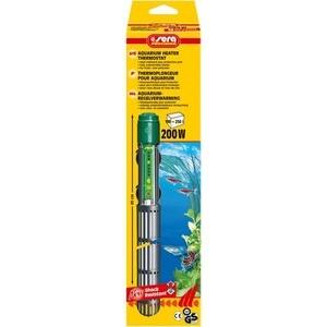 Нагреватель SERA PRECISION 200W Aquarium Heater Thermostat Protective Grid с защитной сеткой регулируемый для воды в аквариуме 200вт
