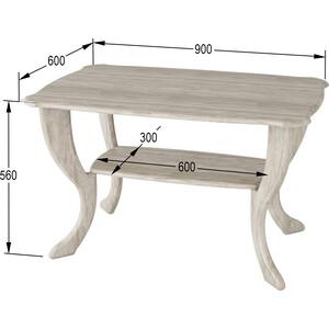 Стол журнальный Калифорния мебель Маэстро СЖ-01 Дуб