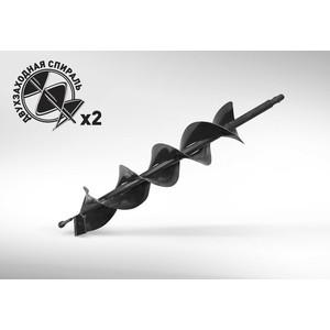 Бур почвенный двухзаходный Carver 100х800мм, 20мм GDB-100/2 (01.003.00045)