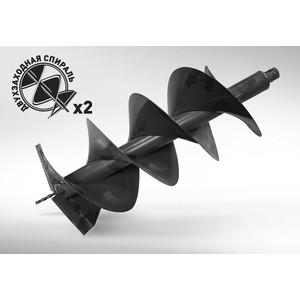 Бур почвенный двухзаходный Carver 300х800мм, 20мм GDB-300/2 (01.003.00053)