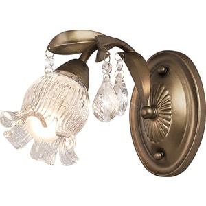 Бра Silver Light серия Semiramida, цвет бронза 1XE14X60W 517.43.1 бра silverlight semiramida 517 43 1