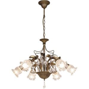 Потолочная люстра Silver Light серия Semiramida, цвет бронза 6XE14X60W 517.53.6 бра silverlight semiramida 517 43 1
