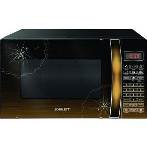 Микроволновая печь Scarlett SC-MW9020S01D лесной орех микроволновая печь scarlett sc mw9020s02m