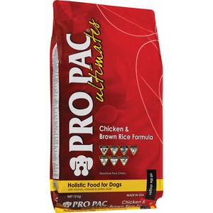 Сухой корм PRO PAC Ultimates Holistic Chicken Meal & Brown Rice Formula с курицей и коричневым рисом для взрослых собак всех пород 12кг