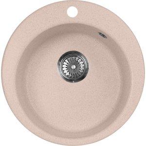 Кухонная мойка AquaGranitEx M-05 (315) розовый