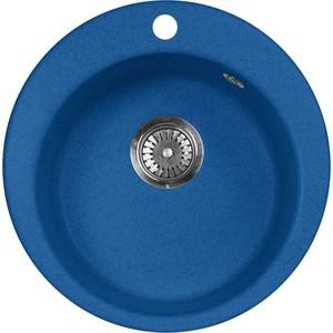 Кухонная мойка AquaGranitEx M-05 (323) синий цена и фото