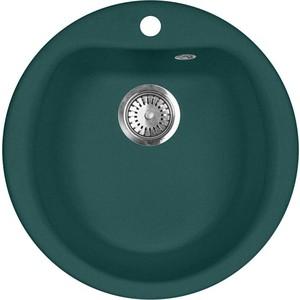 Кухонная мойка AquaGranitEx M-07 (305) зеленый