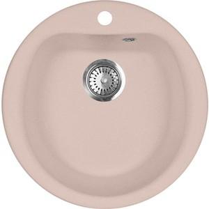 Кухонная мойка AquaGranitEx M-07 (315) розовый