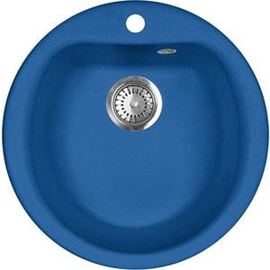 Кухонная мойка AquaGranitEx M-07 (323) синий