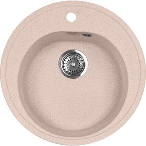 Кухонная мойка AquaGranitEx M-08 (315) розовый